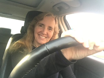 Michele in car white window.jpg