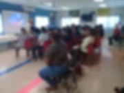 foto de taller creencias en biblioteca.j