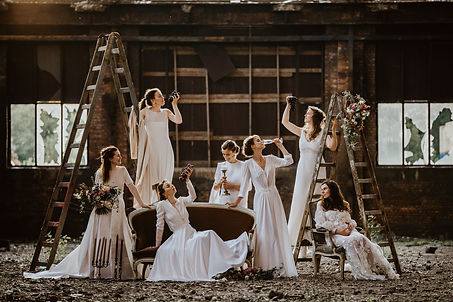 ayanne trouwjurk op maat maatkleding gent bespoke tailor bruidsjurk
