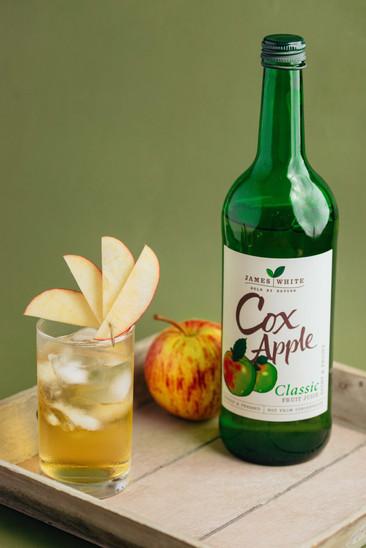james white drinks juice