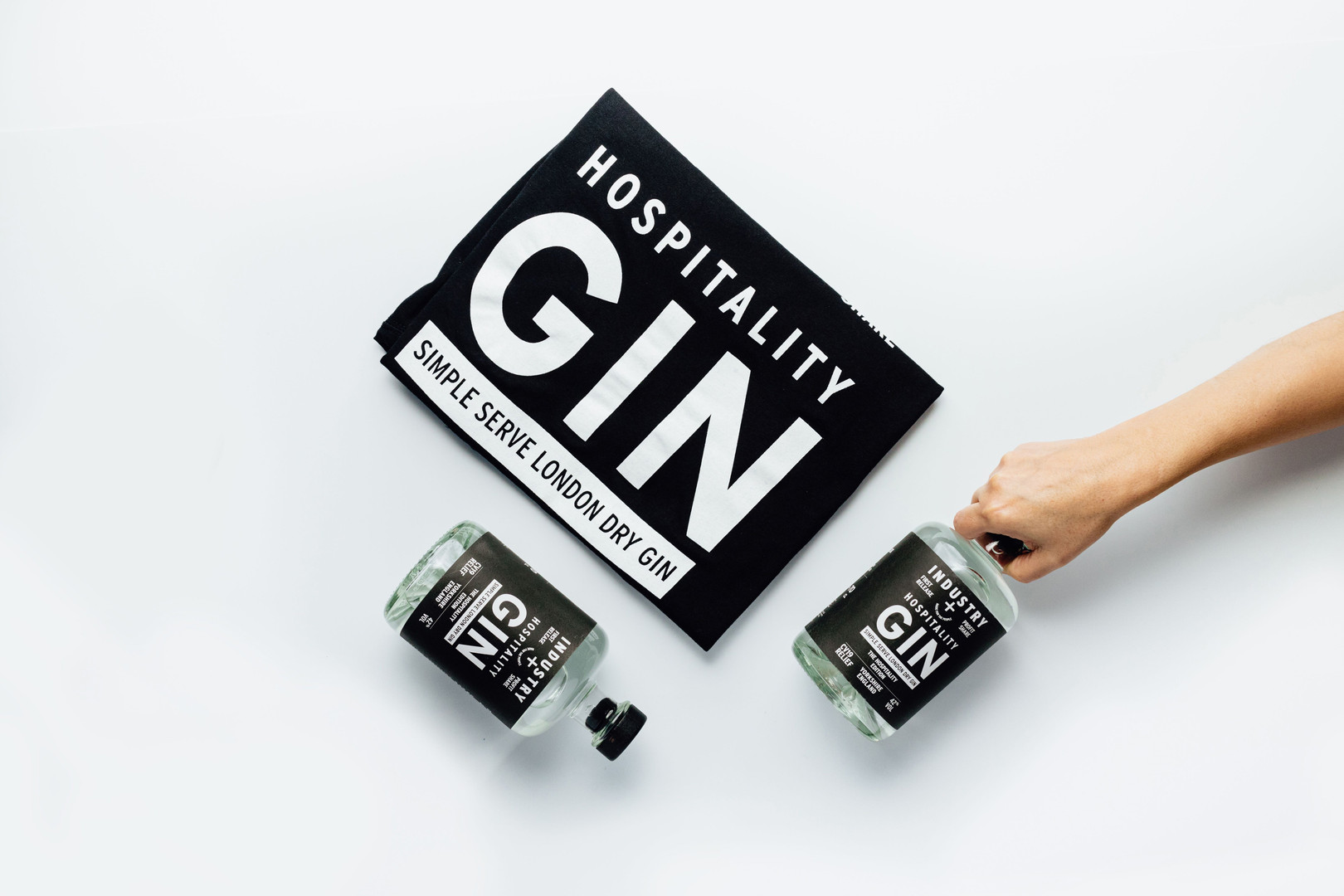 industry gin with purpose hospitality gin
