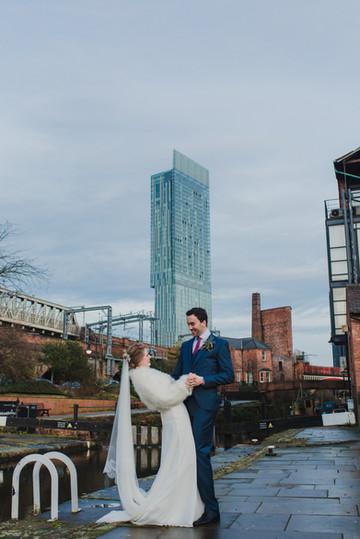 castlefield wedding photographer manchester