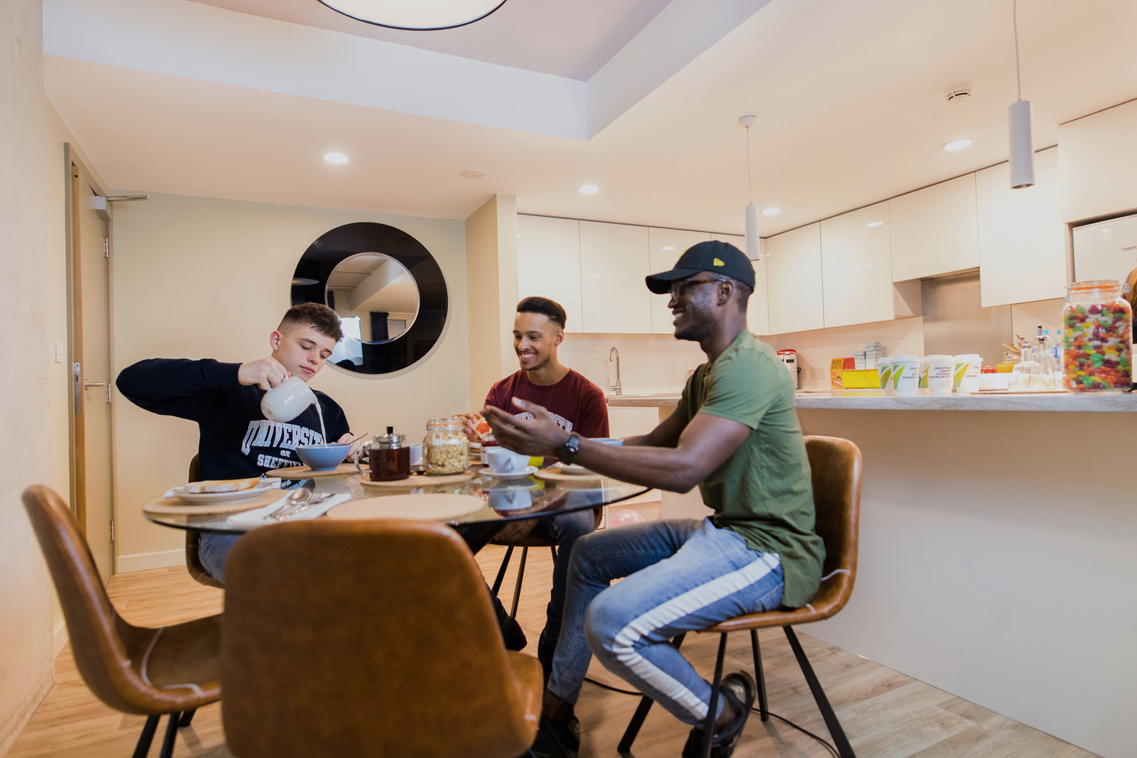 student accommodation photographer