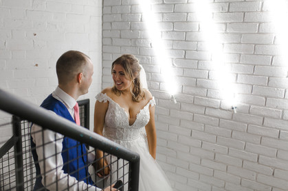 trafalgar warehouse bride and groom photoshoot