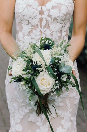 bride flowers derbyshire photos