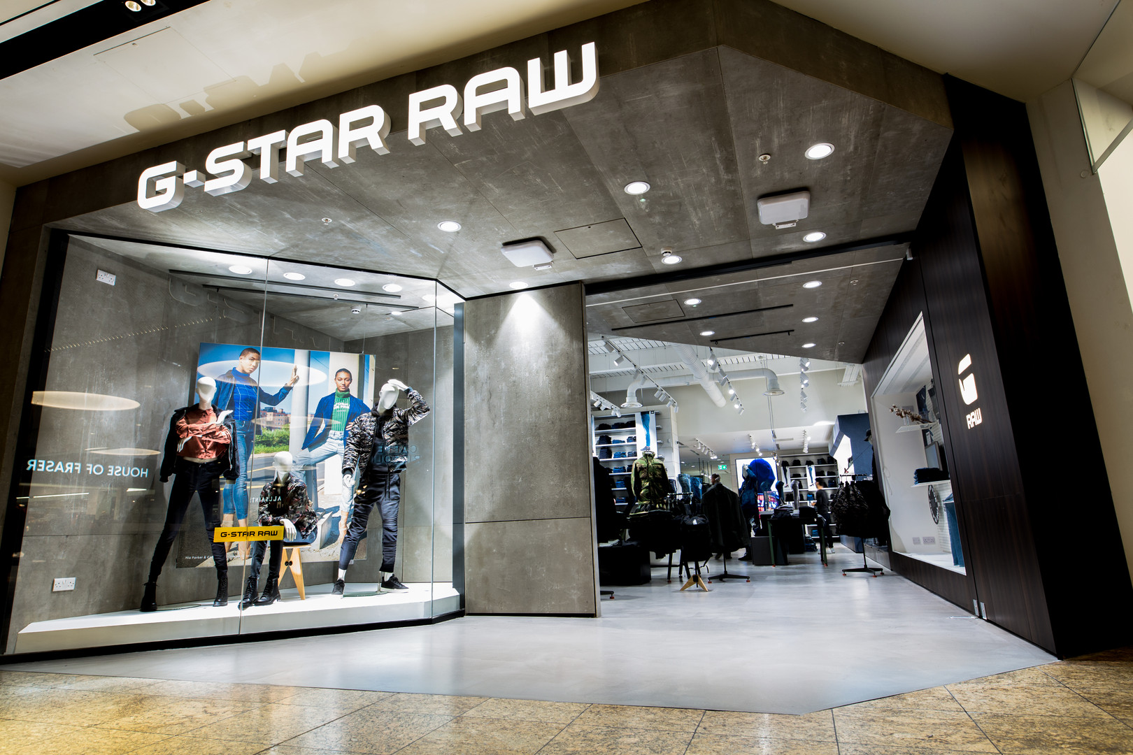 G star raw venue shoot meadowhall sheffield photographer