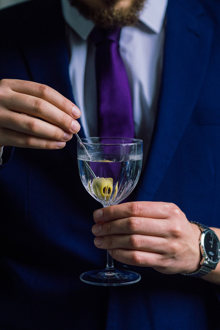 cocktail photography for hospitality gin