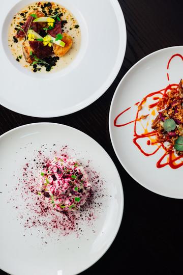 Fine dining by Ashley Bagshaw Silversmiths Sheffield UK Chef