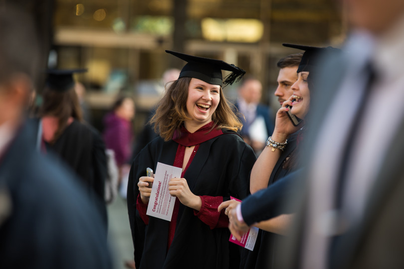 graduation photography for universities candid