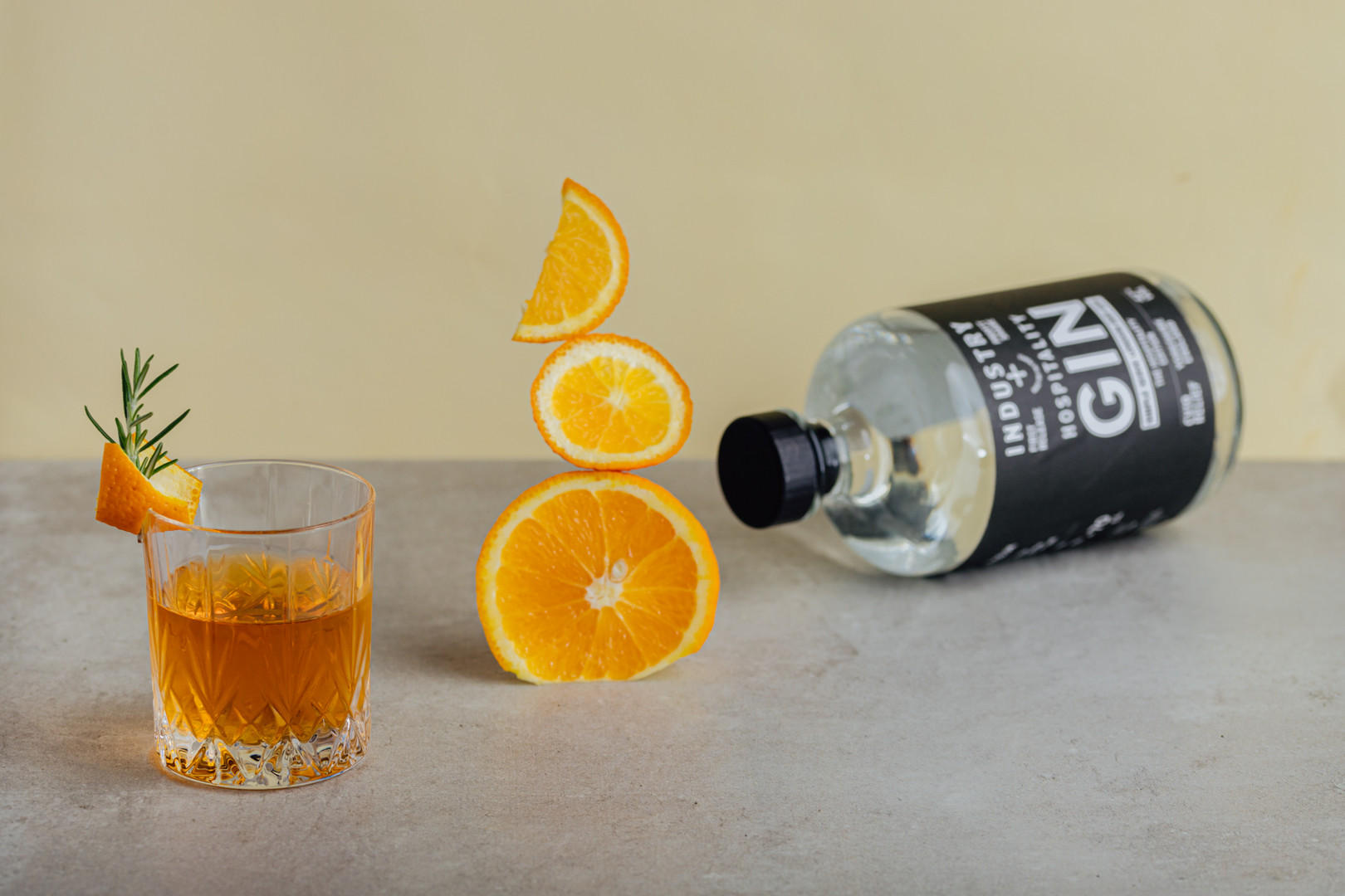 Cocktail shoot for hospitality gin