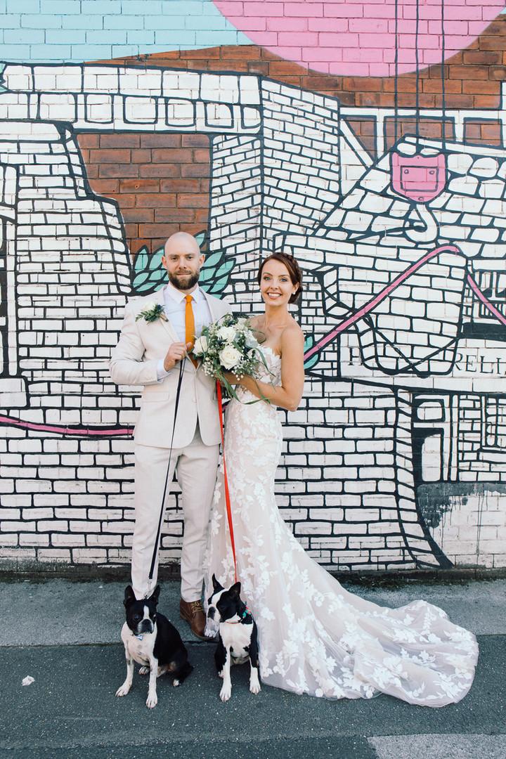 Chimney House wedding sheffield kelham island