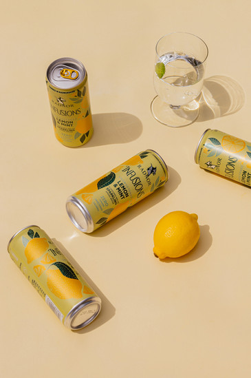 Radnor infusions spring water lemon