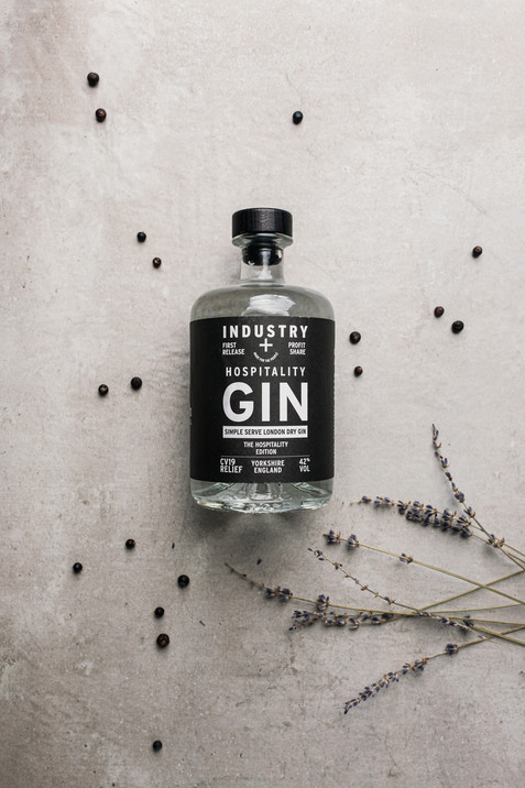 Hospitality gin, gin with purpose