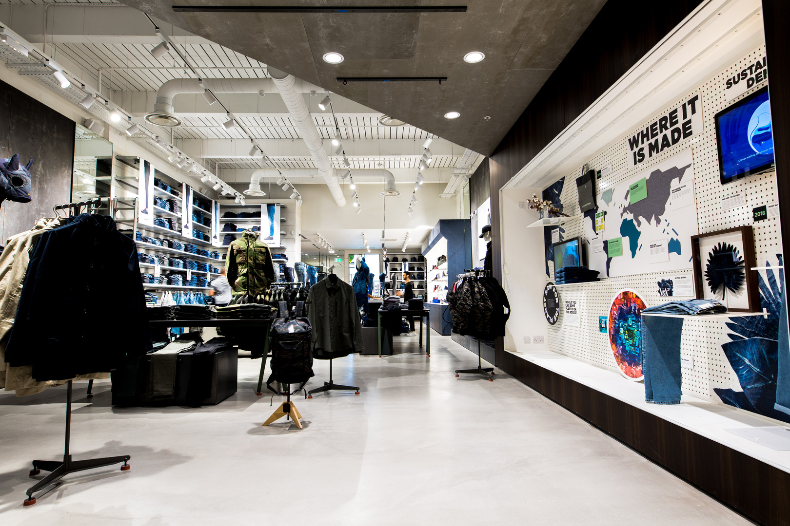 retail photography for stores