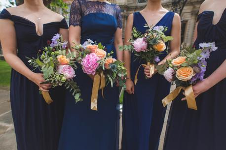 bridemaids at upper chapel sheffield