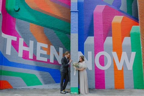 Rob Lee graffiti art sheffield city centre wedding