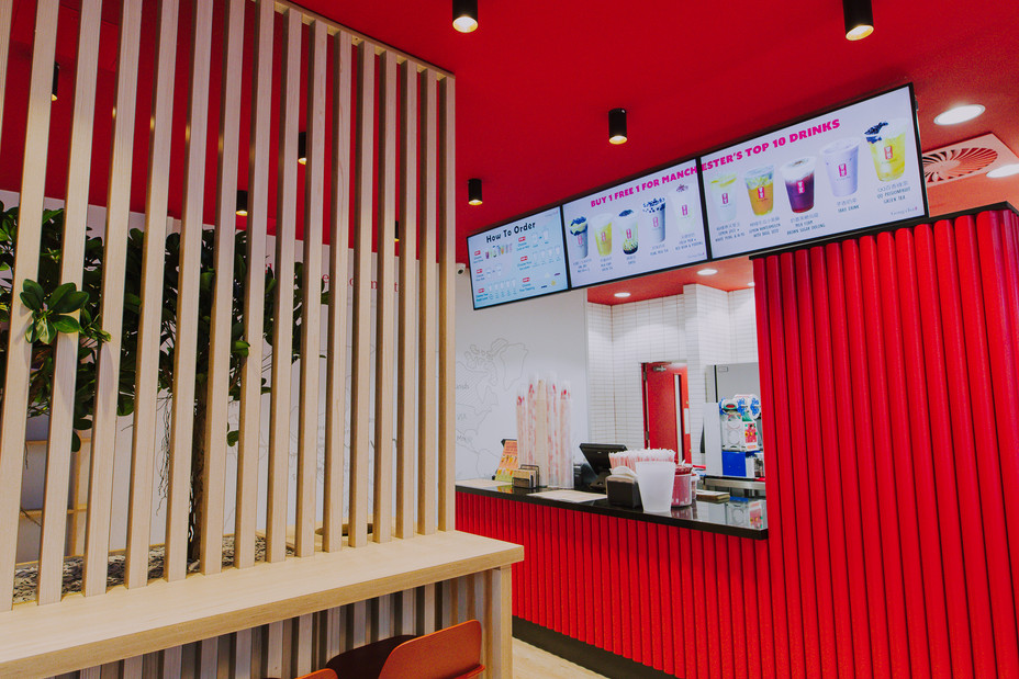 gong cha manchester