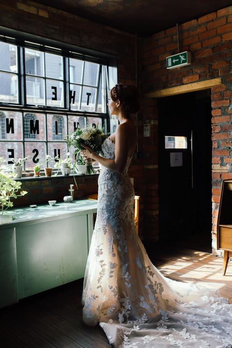 Sheffield wedding photos in The Chimney House Kelham Island Quarter