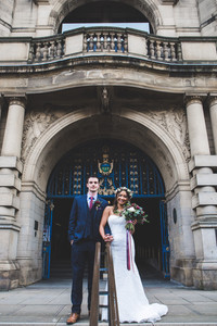 Sheffield town hall wedding photography