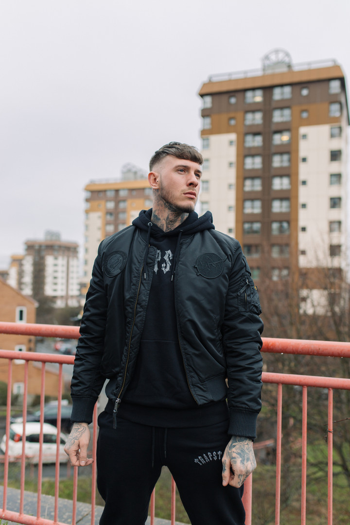 Manchester clothing brand photoshoot photography sheffield leeds