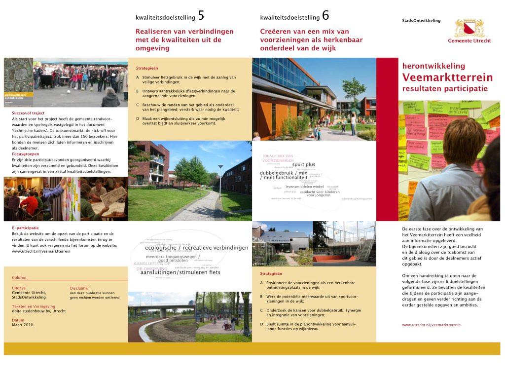 Utrecht Veemarkt participatie