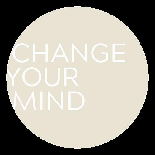 CHANGE YOUR MIND OFFLINE - Das Seminar für die FRAU. 25. - 28. August 2021