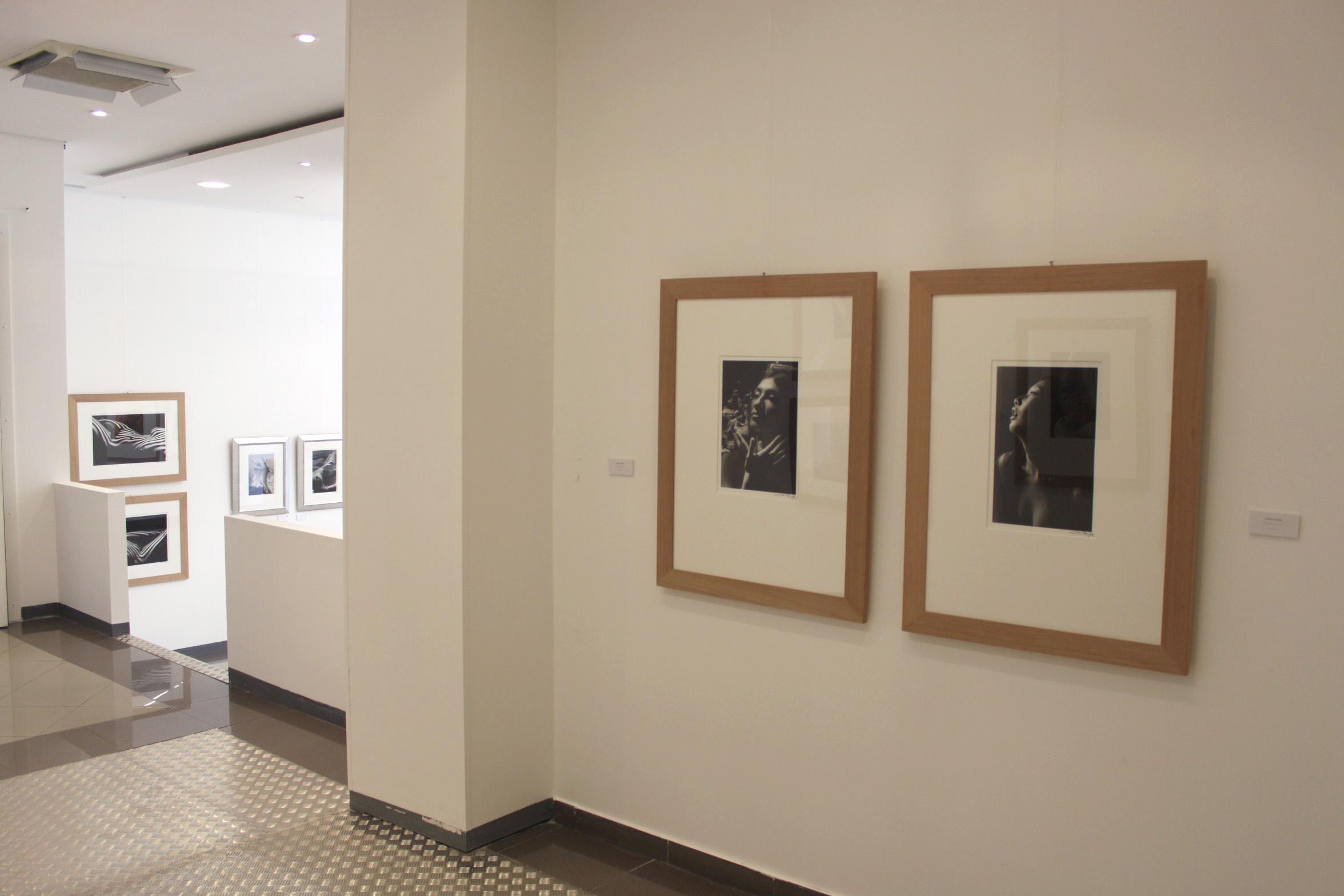 Vue d'exposition Lucien Clergue