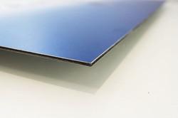 Contrecollage sur aluminium