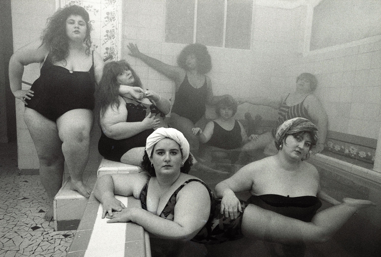 WK-Club Allegro Fortissimo au hammam, Paris-1990 copie