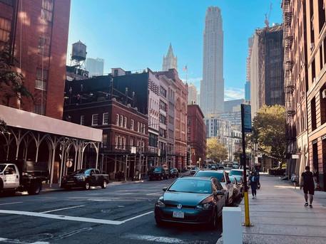 Friday in New York
