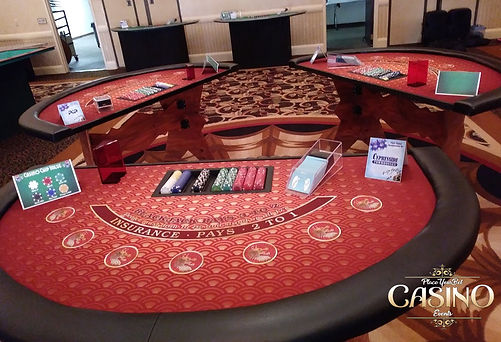 Blackjack Table for Rent, Black Jack Table Rental, Casino Game Rental, Buy or Rent Blackjack Table - Casino Party Equipment