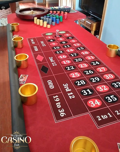Buy or Rent Roulette Table - Casino Party Equipment, Roulette Table Rentals