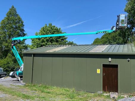 Swansea Tree Surgeon Receives New IMER Spider Lift