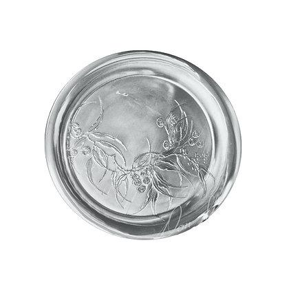 """Round Tray - Flowering Gum 24"""""""