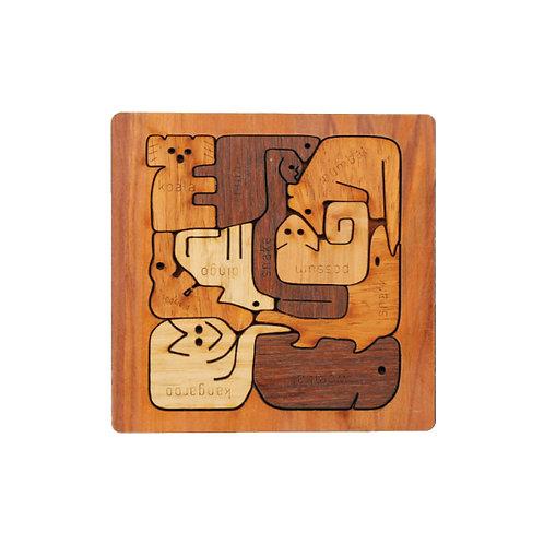Square Animal Puzzle