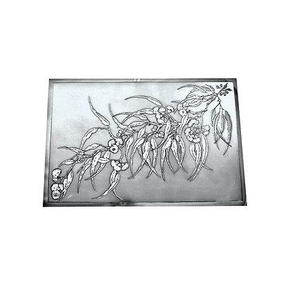 Oblong Casserole Mat - Flowering Gum