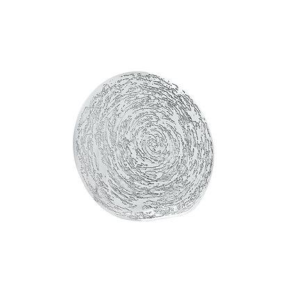 Off Round Platter - Swirl