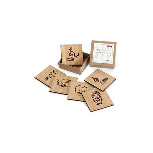 Animal Square Coasters