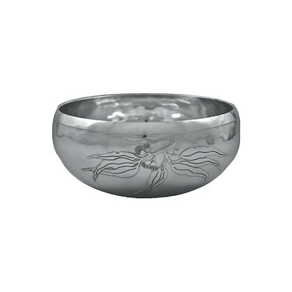 Curved Sided Salad Bowl Small - Flowering Gum