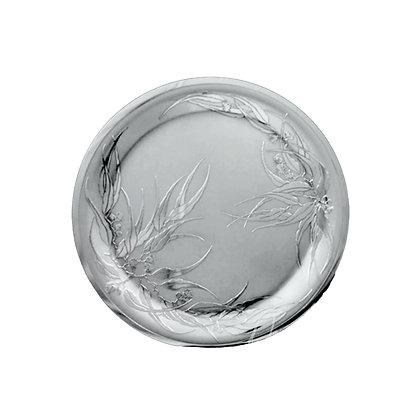 """Round Tray - Flowering Gum 15"""""""