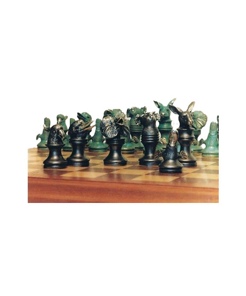 Wildlife Chess Set (inc box & board) Edition 50