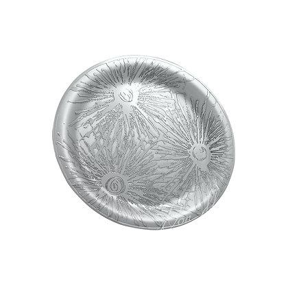 """Round Tray - Sunburst 12"""""""