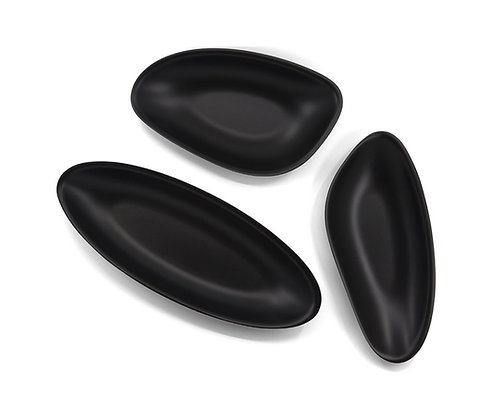 Tidal Pool Bowls (3) - Black