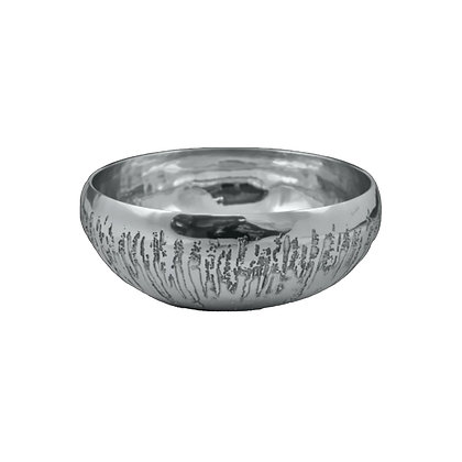 Curved Sided Salad Bowl Small - Stalagmite