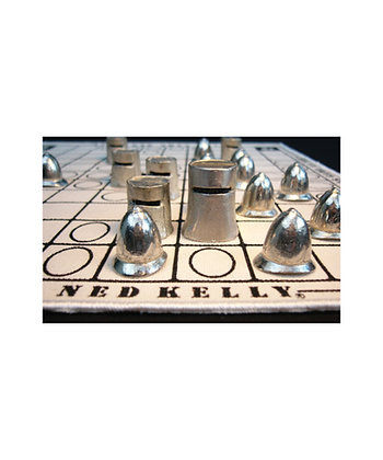 Ned Kelly Pewter Game
