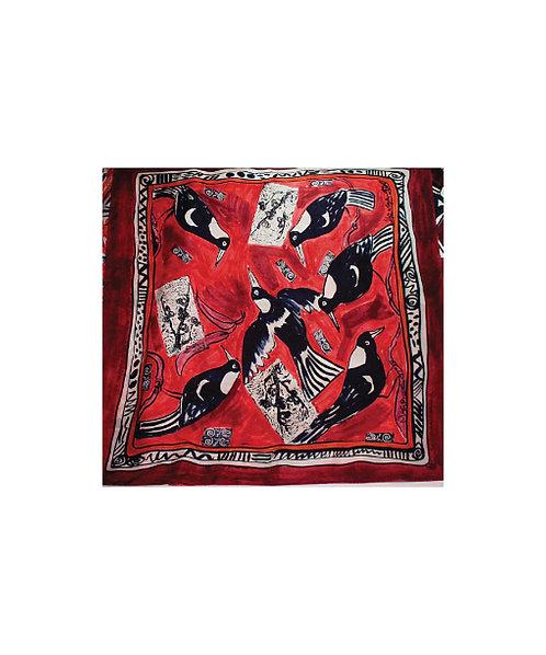 Helga Muschinski Silk Scarves - Magpie