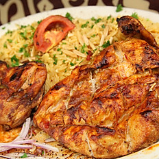 WHOLE CHICKEN TIKKA PLATTER (BONE IN) - CARRY OUT ONLY