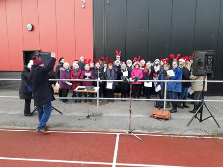 Singing to Support Ryan and Derian House Hospice