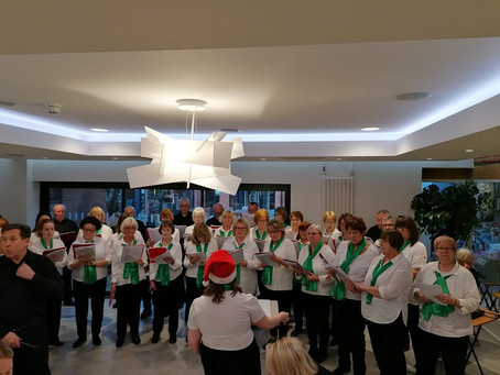A Busy Week for the Choir
