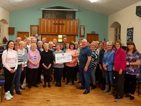 Donation to East Lancashire Hospice